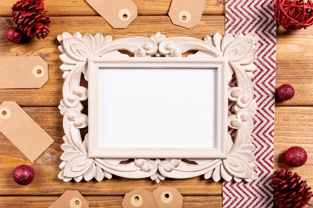 Mooi vintage frame en prijskaartjes Gratis Foto