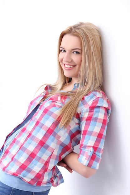 Mooie blonde Gratis Foto
