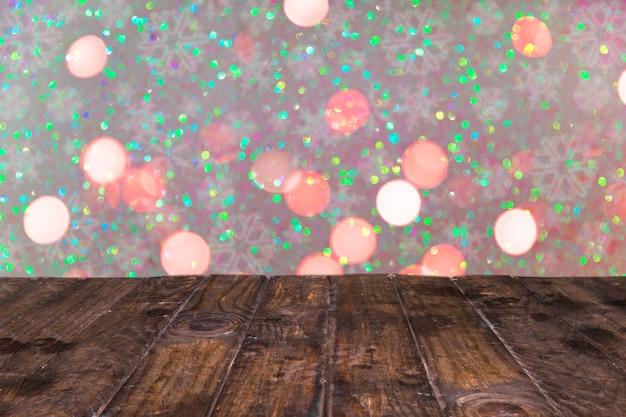 Mooie glitter achtergrond met kerststijl Gratis Foto