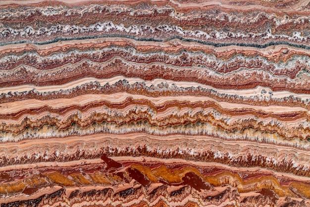 Mooie natuurlijke abstracte rode marmeren achtergrond Premium Foto