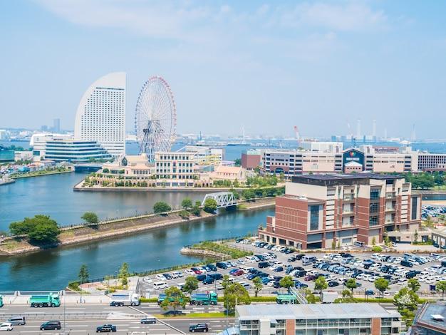 Mooie yokohama-horizonstad in japan Gratis Foto