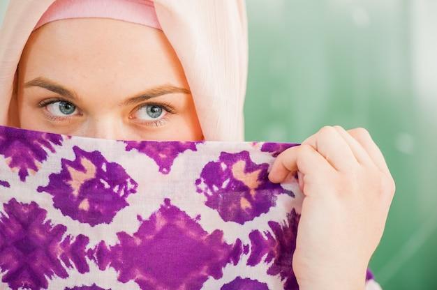 Moslim middelbare scholieren Premium Foto