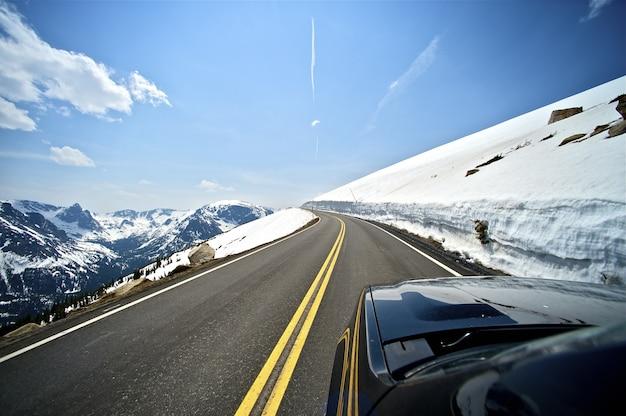 Mountain road Gratis Foto