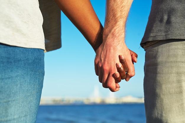Multi-etnische liefde Gratis Foto
