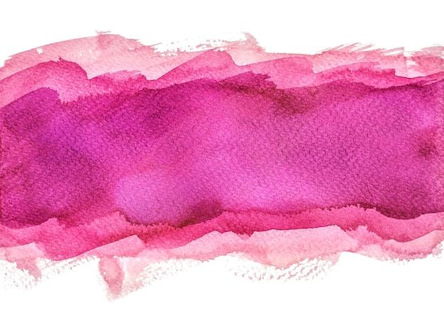 Multilayer paarse aquarel achtergronden, met de hand schilderen Premium Foto