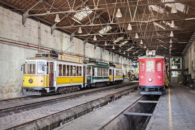 Museu do carro electrico Premium Foto