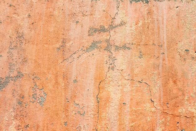 Muurfragment met krassen en scheuren Premium Foto