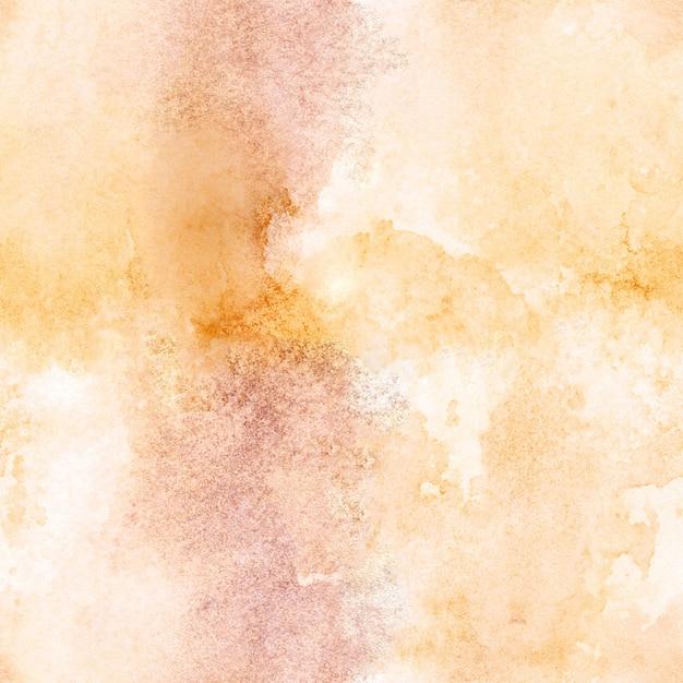 Naadloos patroon met waterverfhand geschilderde abstracte achtergrond. Premium Foto