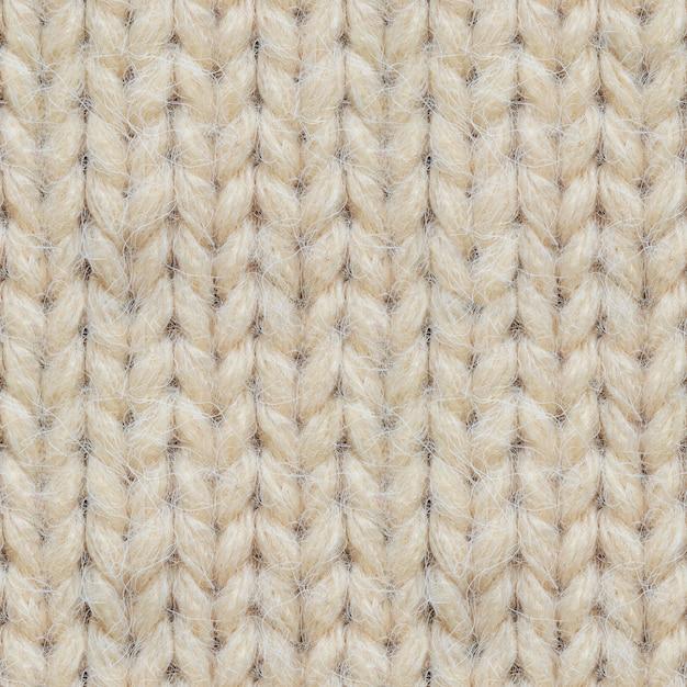 Naadloze textuur van gebreide trui Premium Foto