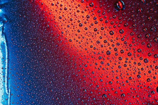 Naadloze waterdalingen op heldere oppervlakteachtergrond Gratis Foto
