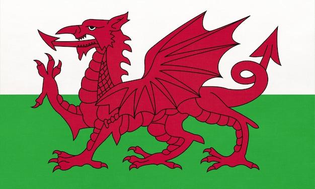 Nationale vlag van wales Premium Foto