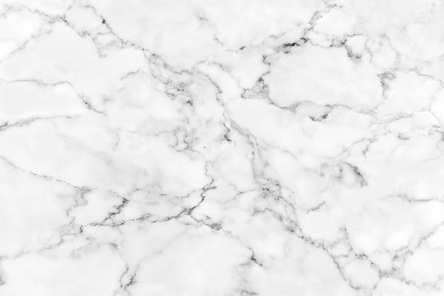 Natuurlijke witte marmeren textuur voor huidtegel behang luxueuze achtergrond. Premium Foto