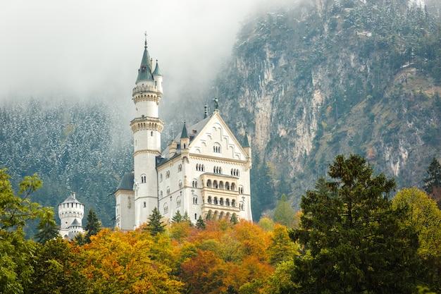 Neuschwanstein kasteel Premium Foto