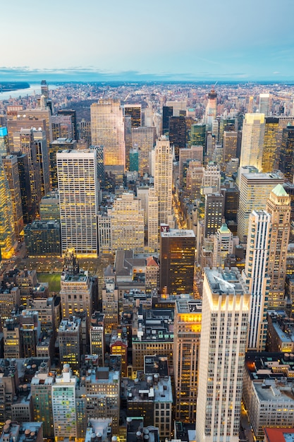 New york city aerial Premium Foto