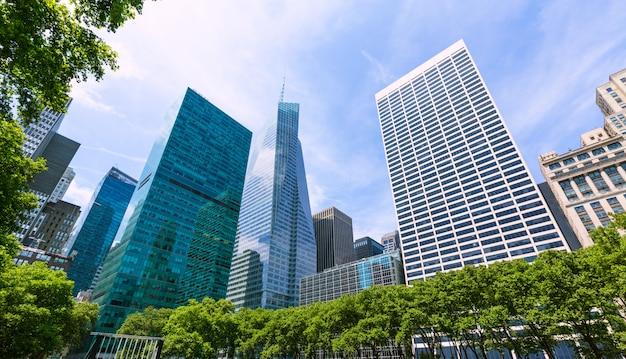 New york city manhattan bryant park vs. Premium Foto