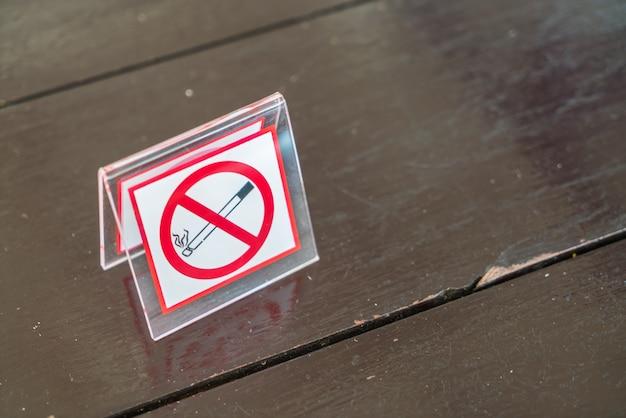 Niet roken teken Gratis Foto