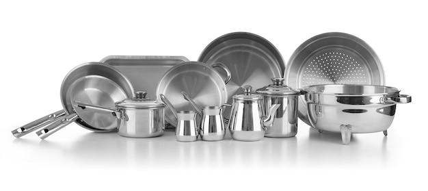 Nieuwe keukengerei gebruiksvoorwerpen Premium Foto