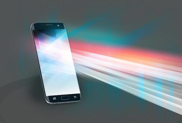 Nieuwe technologieën of nieuwe applicaties op smartphones Premium Foto