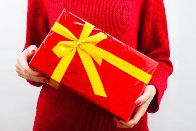 Nieuwjaar cadeau Premium Foto