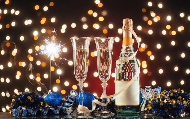 Nieuwjaarsviering Premium Foto