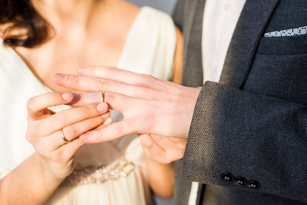 Nieuwkomers wisselen ring Gratis Foto