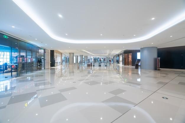 Nterieure ruimte van warenhuis Premium Foto