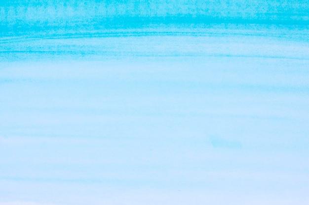 Oceaan blauwe golven aquarel verf achtergrond Gratis Foto