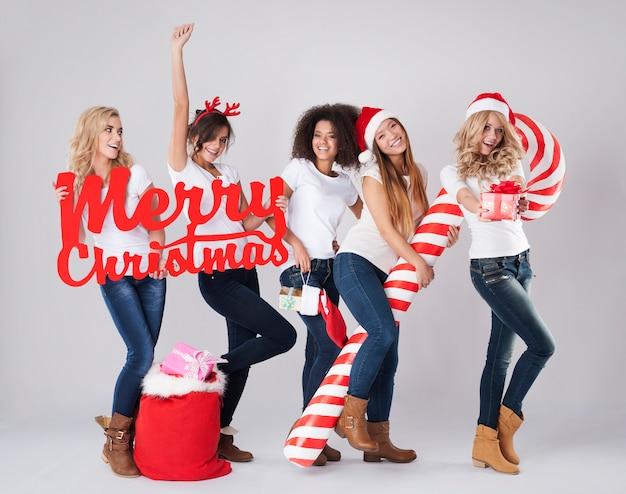 Oh ja! kersttijd komt eraan! Gratis Foto