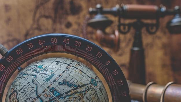 Old world globe model Premium Foto