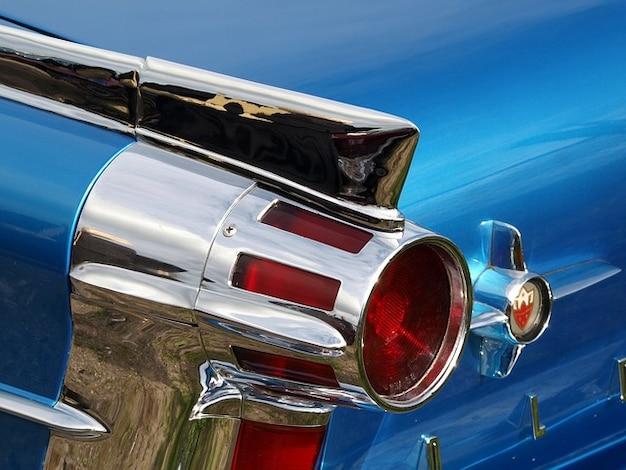 Oldster klassieke backend oldsmobile achterlicht Gratis Foto