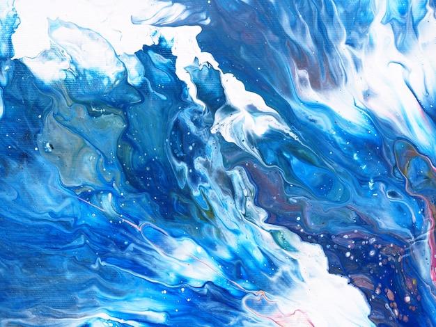 Olieverf kleurrijke kleuren natuurlijke luxe. abstracte achtergrond. Premium Foto