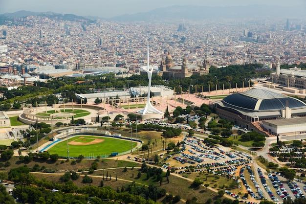 Olimpic gebied van montjuic. barcelona Gratis Foto