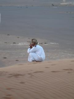Omaanse mensen van de woestijn, safari Gratis Foto