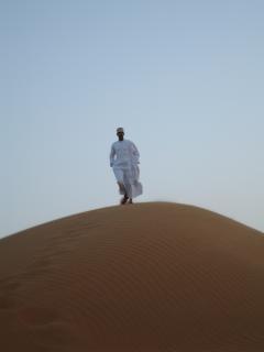 Oman mensen van de woestijn Gratis Foto