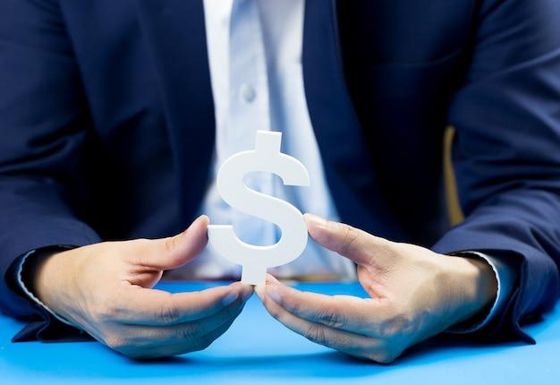 Ondernemers investeren voor de toekomst en winst. Premium Foto