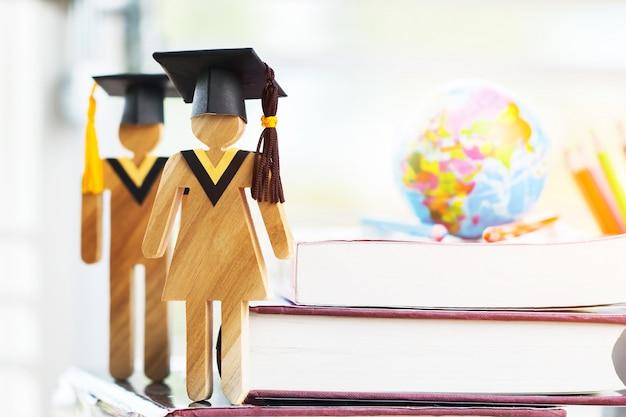 Onderwijs kennis leren studeren in het buitenland internationale ideeën. Premium Foto