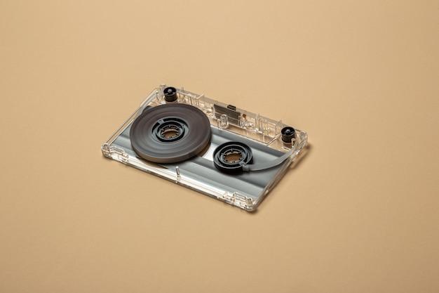 Ongemonteerde compacte audiocassette Premium Foto