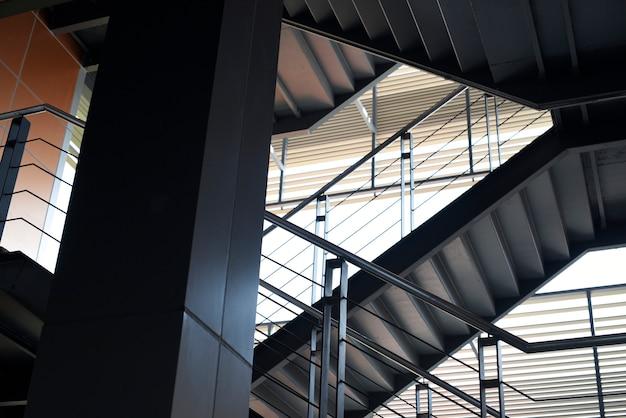 Ontwerp van de verdieping en het trappenhuis van de bewoner Premium Foto