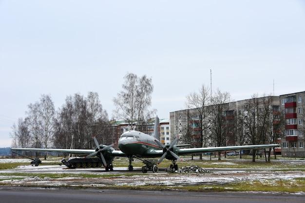 Oorlogsvliegtuig Premium Foto