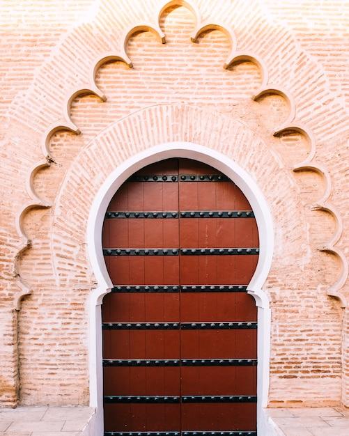 Oosterse deur Gratis Foto