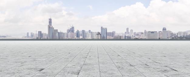 Oosterse landschap grond parel futuristische toren Gratis Foto