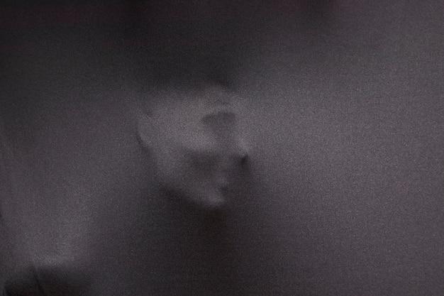 Opdruk van menselijk gezicht Gratis Foto