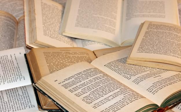 Open boeken Premium Foto