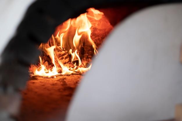 Openhaard warm voor bakken Gratis Foto