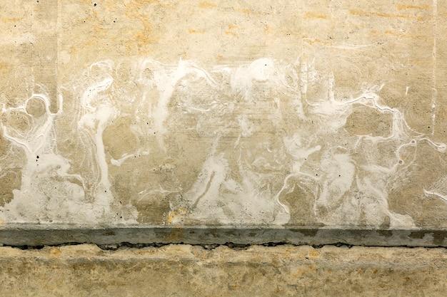Oppervlakte - abstracte oude grunge - de vuile textuur van het muur barstende cement Premium Foto