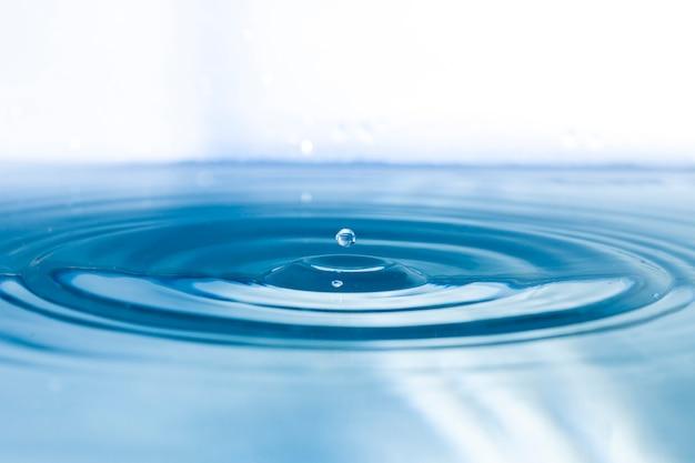 Oppervlakte water met ribbels Premium Foto