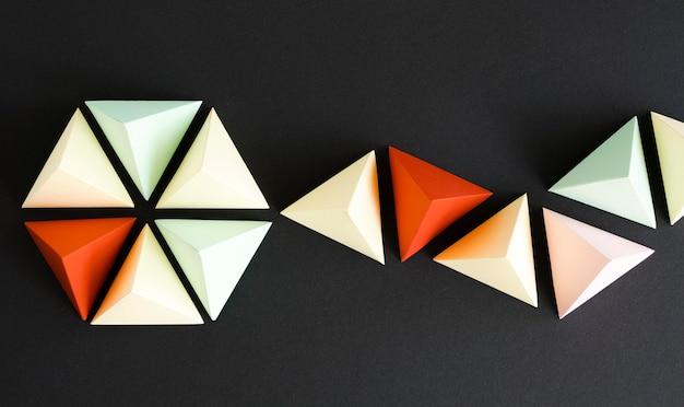 Origami gemaakt van papier Gratis Foto