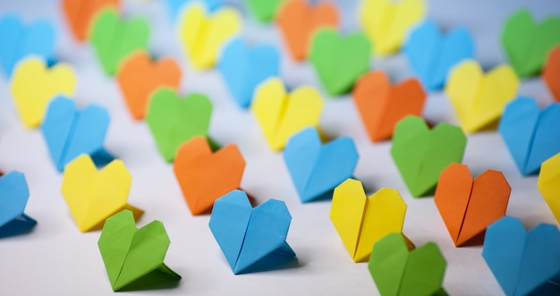 Origami papieren harten Gratis Foto