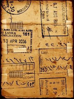 Oud papier gevlekte Gratis Foto