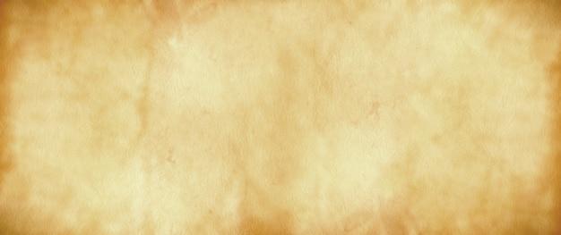 Oud perkamentpapier. banner textuur Premium Foto